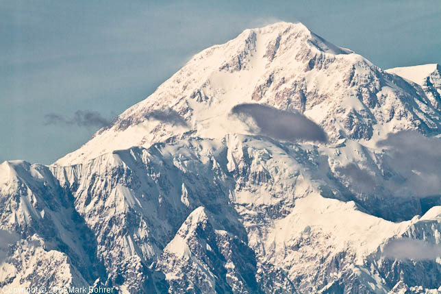 Mount McKinley Summit from Talkeetna Overlook