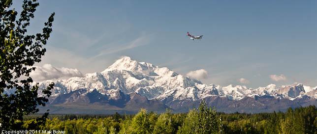Mt. McKinley from Talkeetna Overlook, Talkeetna Spur