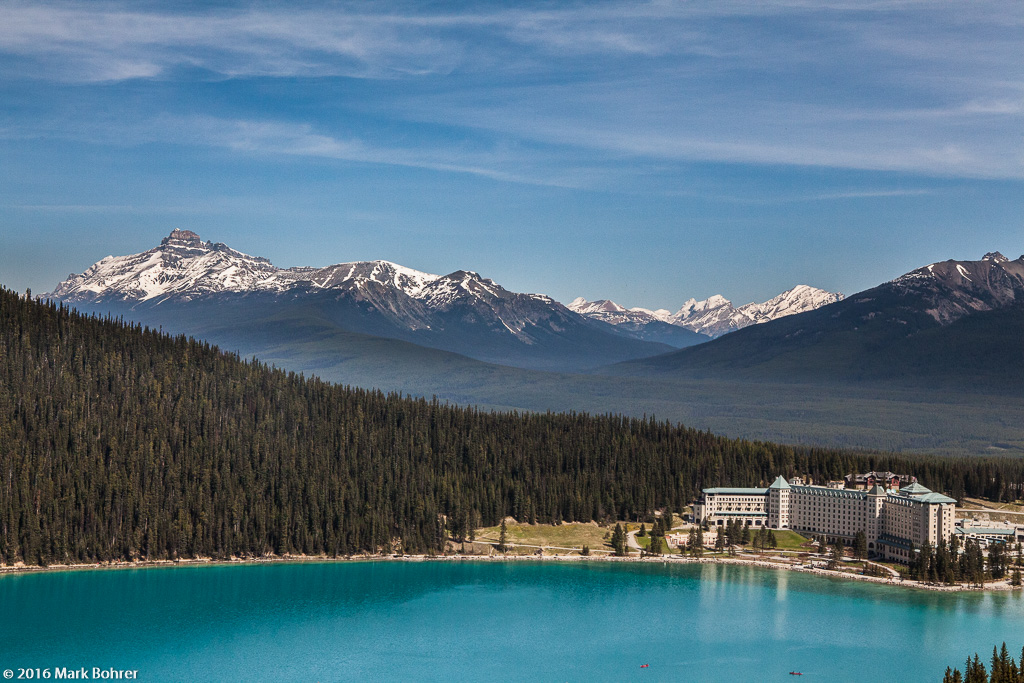 Lake Louise from Farview Point
