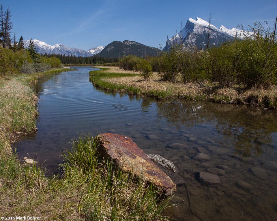 Vermillion Lakes Wetlands