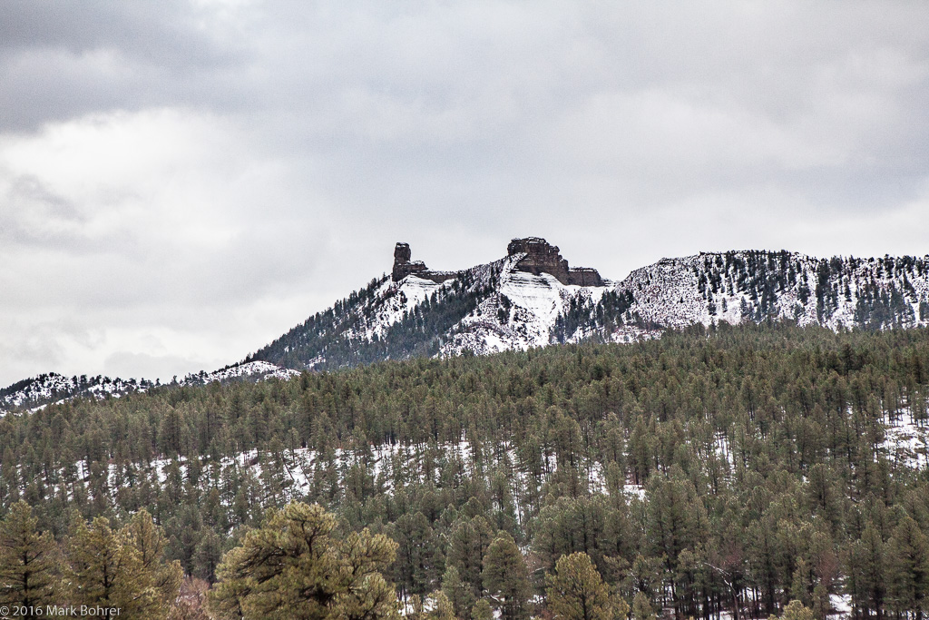 Chimney Rock near Pagosa Springs, Colorado