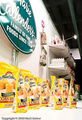 Marie Calender's booth, 35th Winter Fancy Food Show