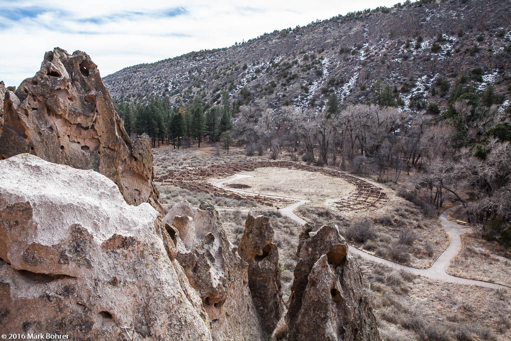 D-shaped ruin, Bandelier National Monument