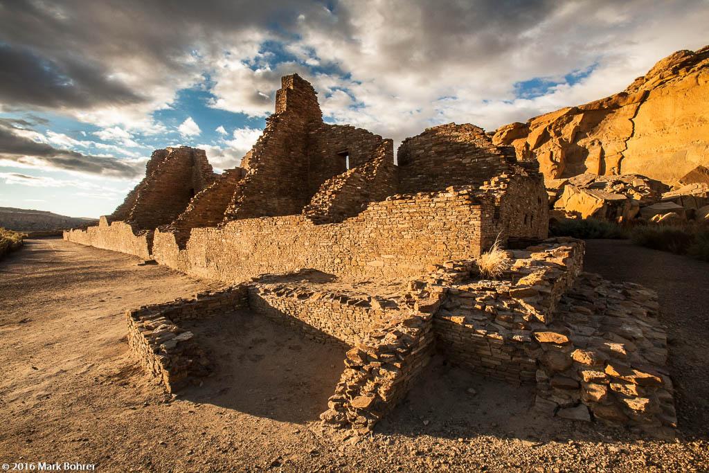 Pueblo Bonito, Chaco Canyon - Chaco Culture National Historical Park