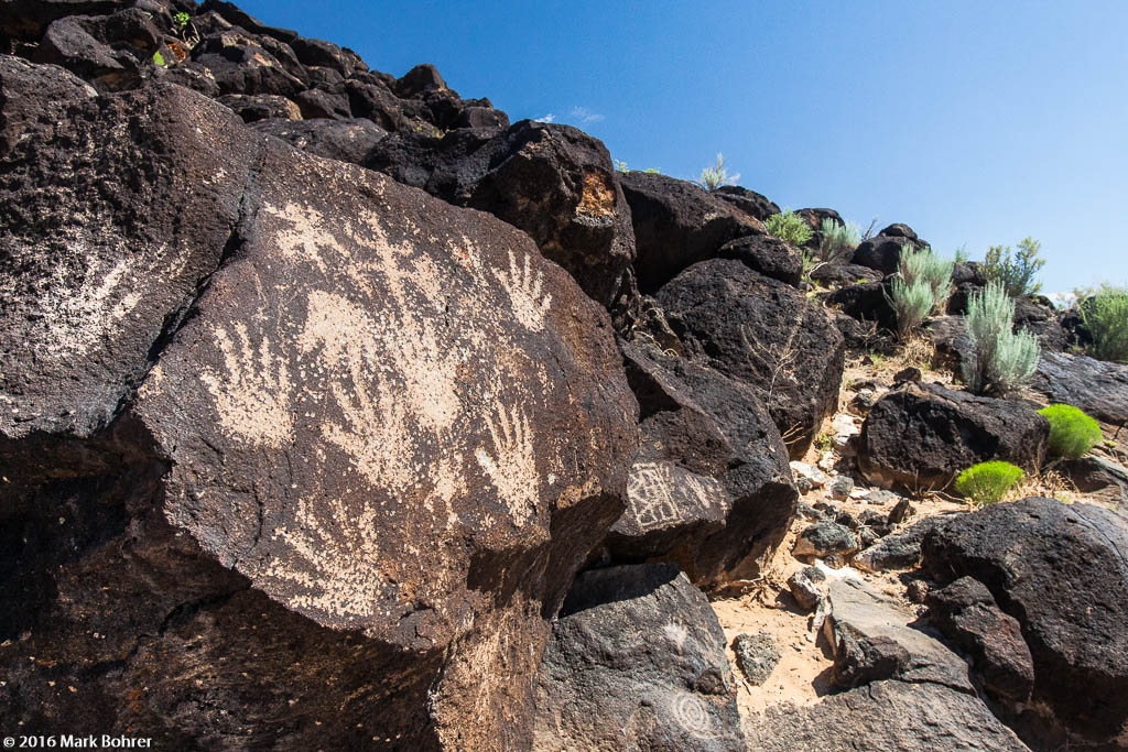 Hands, Petroglyph National Monument