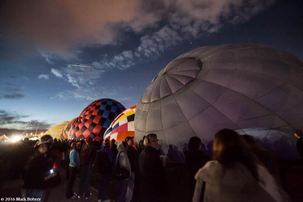 Cold Inflation, Albuquerque International Balloon Fiesta