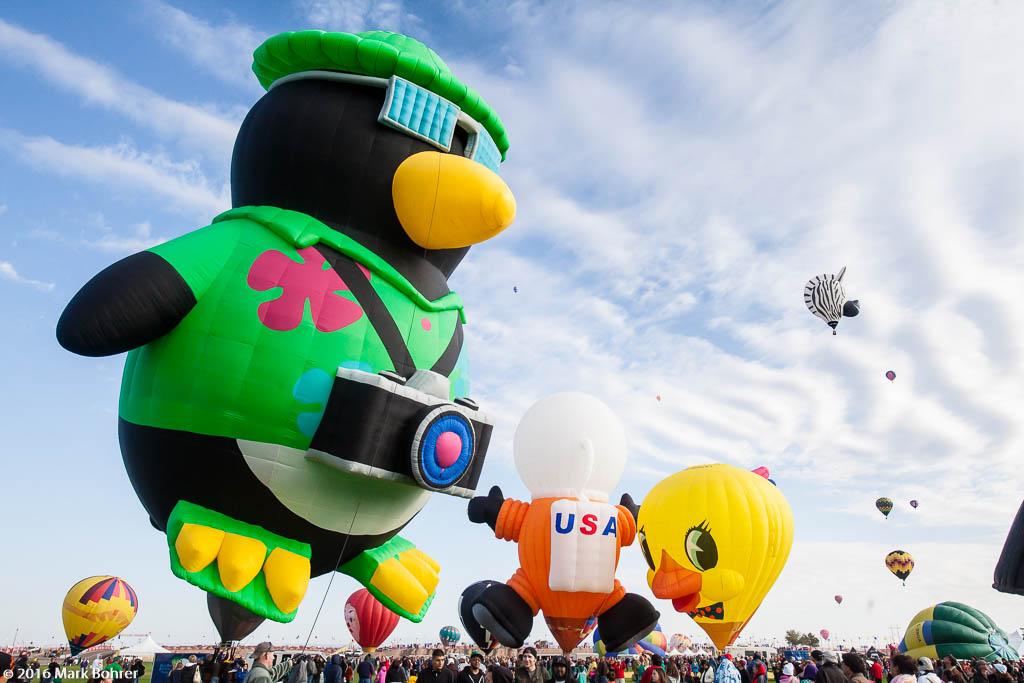 morning Glowdeo, Albuquerque International Balloon Fiesta