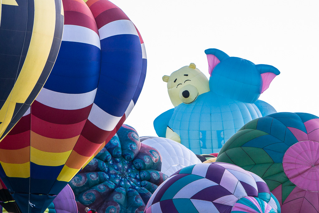 Huggy bears - Albuquerque International Balloon Fiesta