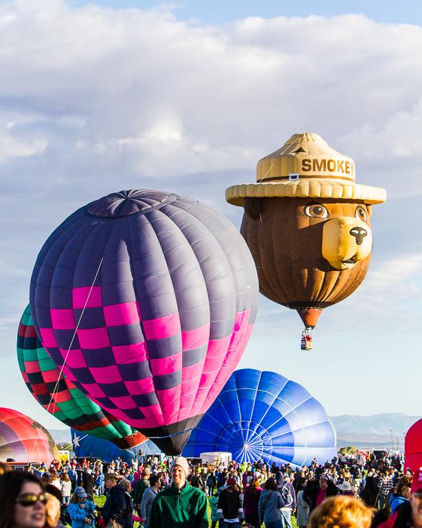 Smokey the Bear - Albuquerque International Balloon Fiesta
