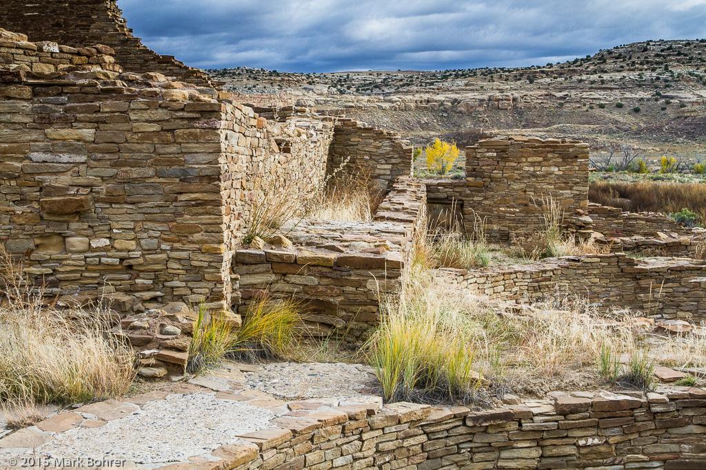 Pueblo Bonito ruin, Chaco Canyon