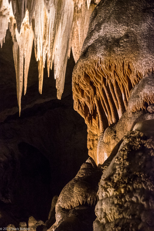 Stalactites and Teeth - Carlsbad Caverns