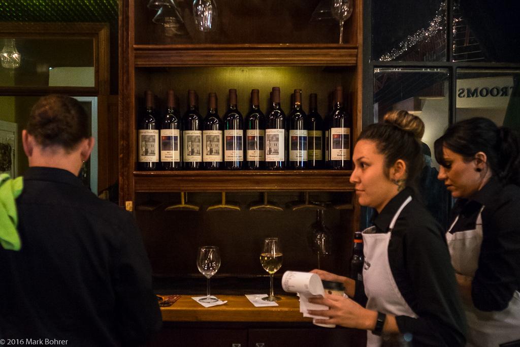 Wine at Trinity Restaurant, Carlsbad