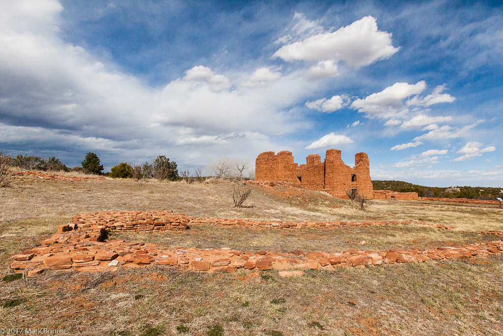 Quarai Mission and  Manzano Church - Salinas Pueblo Missions National Monument