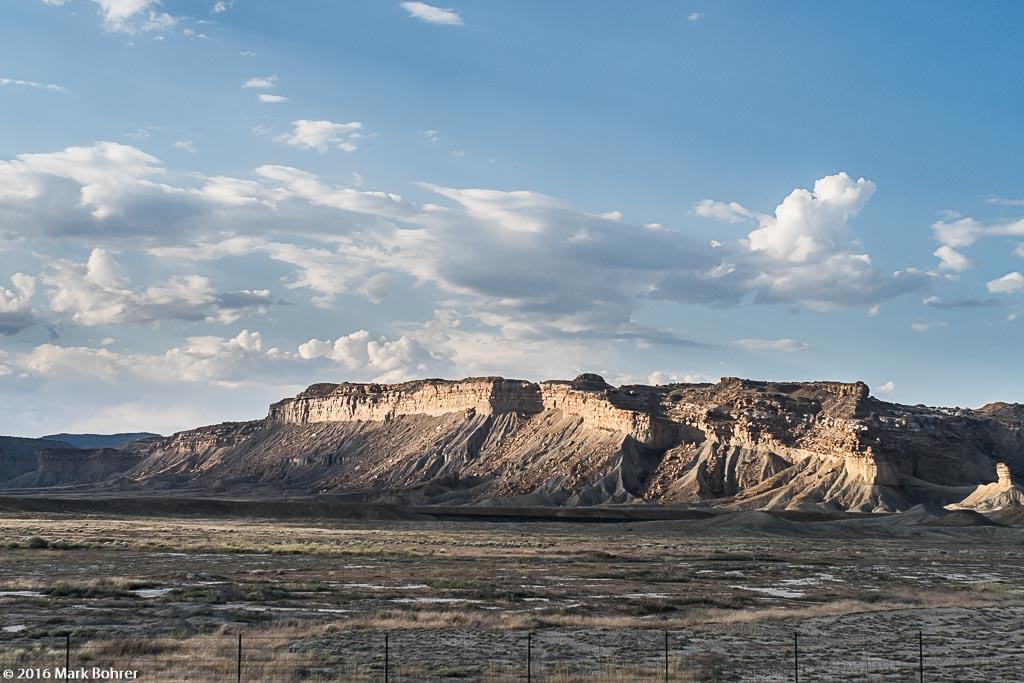 Book Cliffs in Southeastern Utah