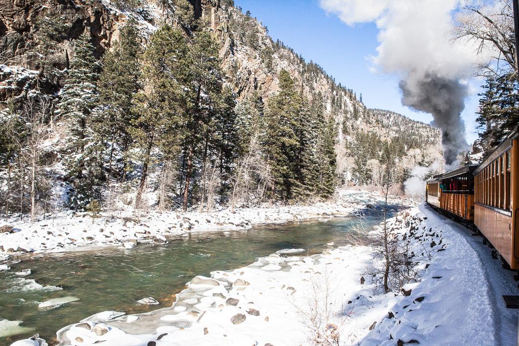 Christmas Tree train, Durango-Silverton Narrow Gauge Railroad
