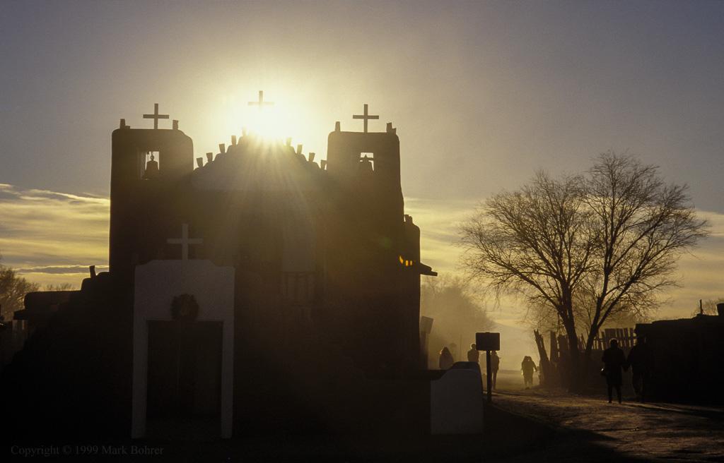 St. Jerome Chapel, Taos Pueblo, New Mexico