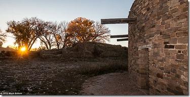 Great Kiva sunstar, Aztec Ruins Natuional Monument