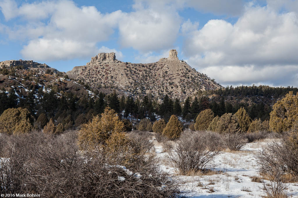 Chimney Rock, December