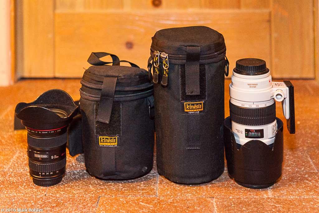 Kinesis Gear E165, E280 cases