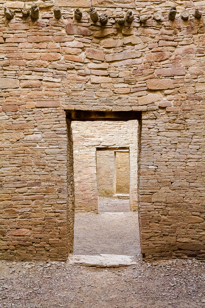 Doorways, Pueblo Bonito, Chaco Canyon