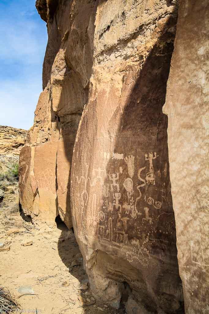 Petroglyphs, Chaco Canyon