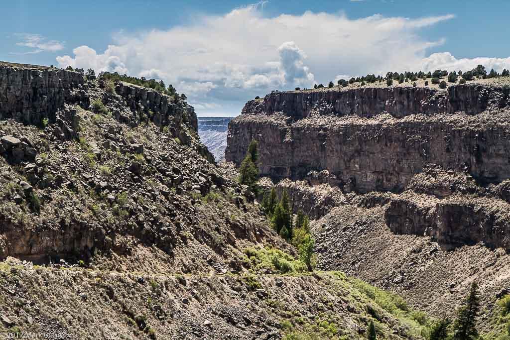 Rio Grande Del Norte Slide Trail