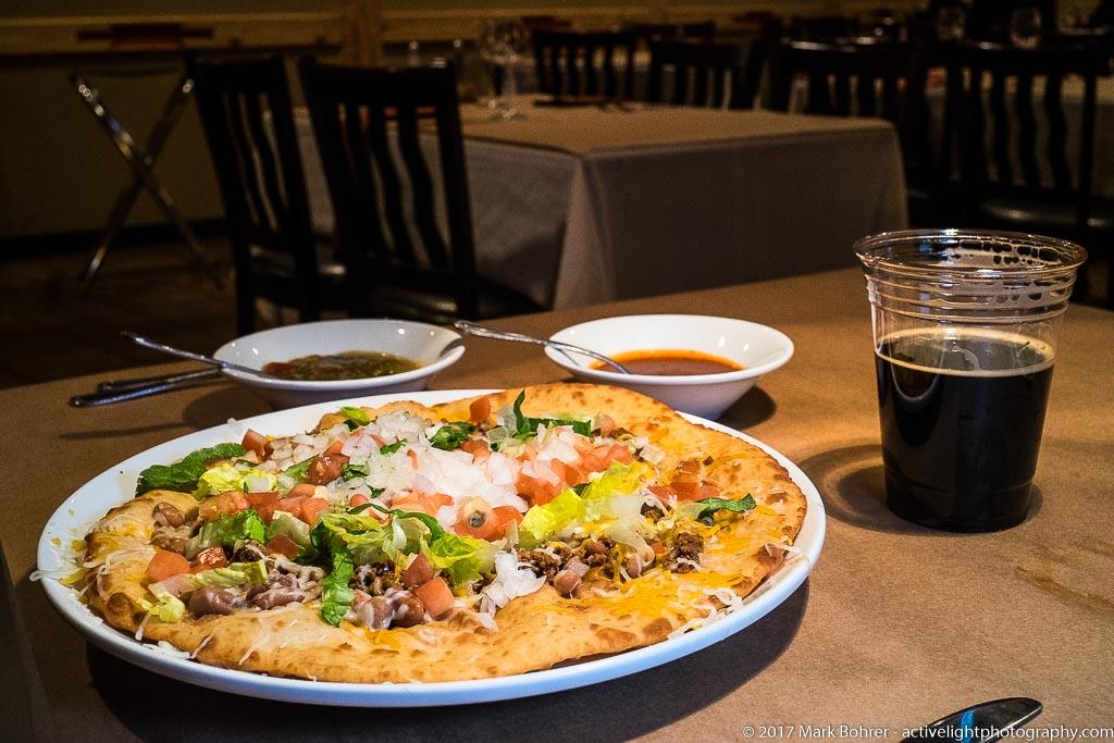 Tiwa Taco, Pueblo Harvest Cafe, Albuquerque