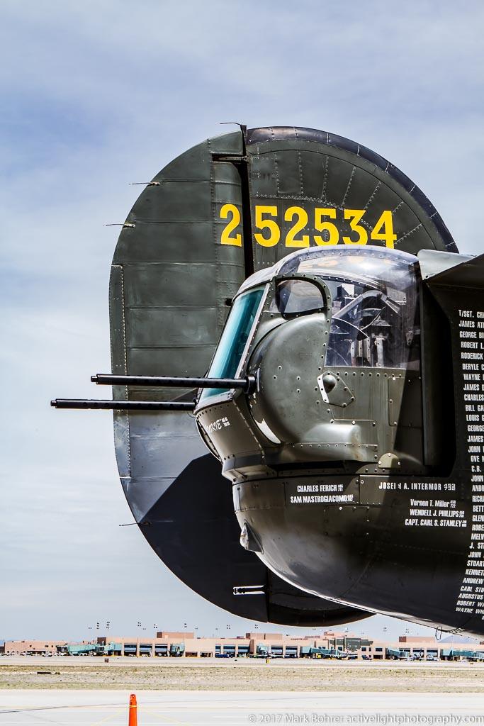 B-24J tail guns