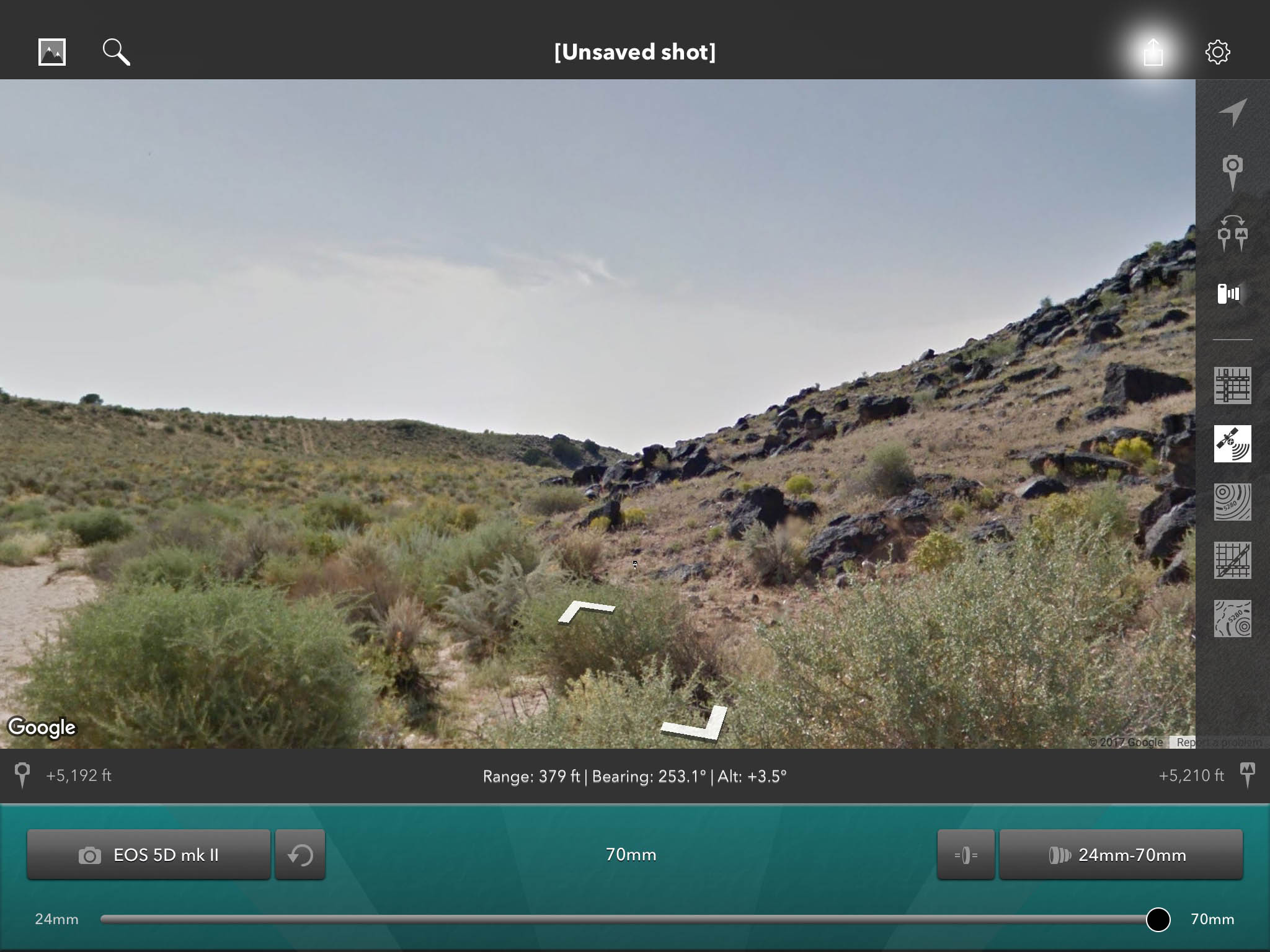 Street view, Piedras Marcadas - Photo Transit