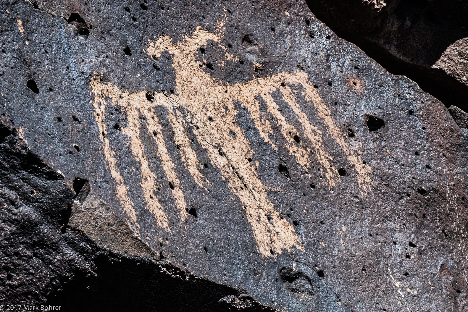 Thunderbird - La Cieneguilla Petroglyph Site