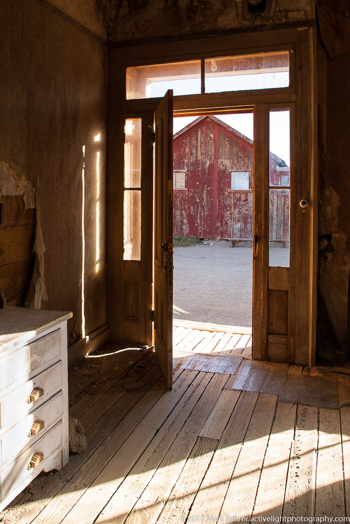 Bodie Ghost Town, California - inspired by Ace Powell's oil painting Ghost Town