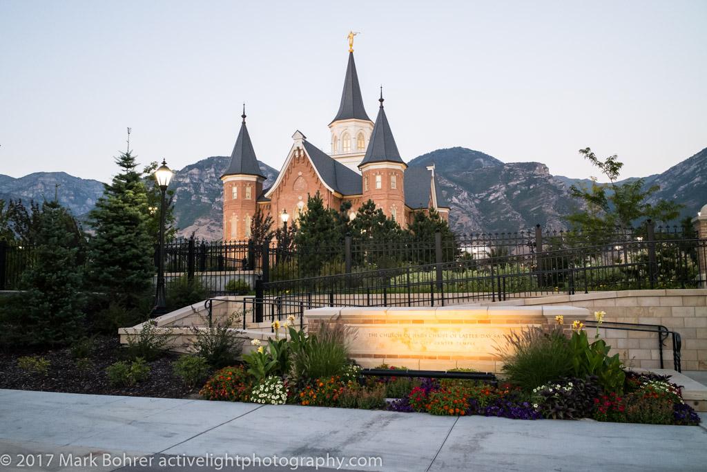 Mormon Temple, Provo
