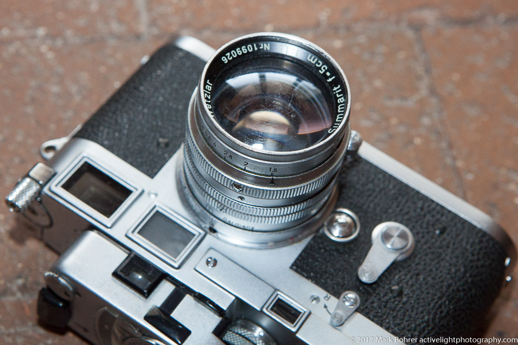 Leica M3 with Leicameter MR4 and 50mm f/1.5 Summarit