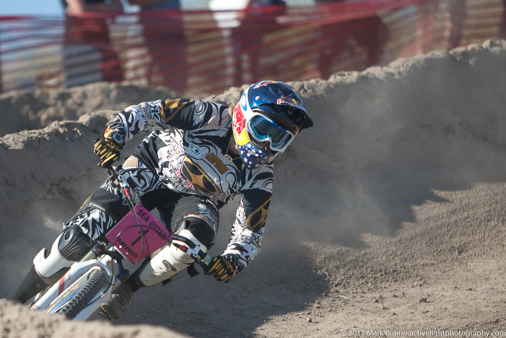 Top seed in womens' pro dual slalom - 2009 Sea Otter Classic
