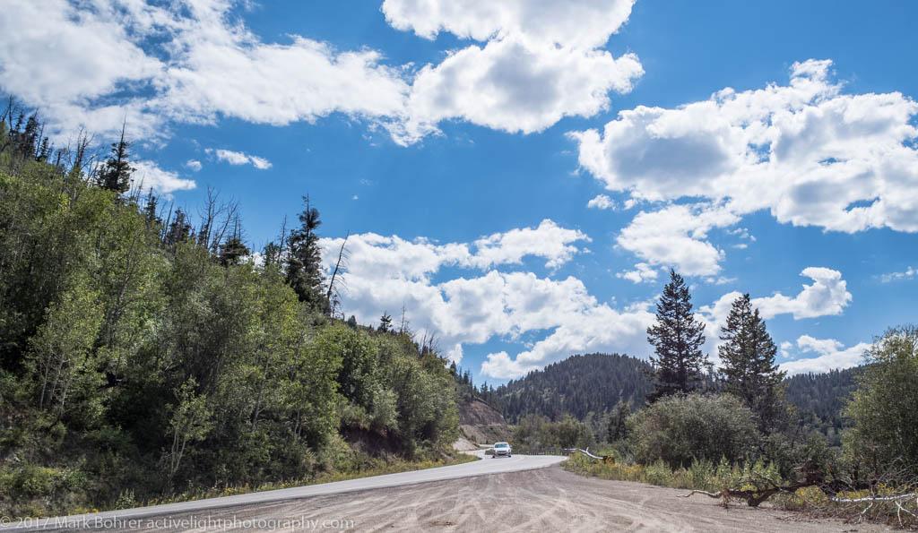 Ascending Colorado Highway 139