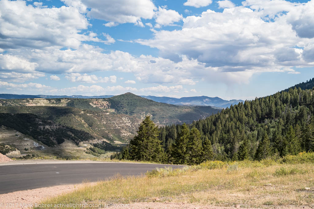 Heading down from Douglas Pass, Colorado Highway 139