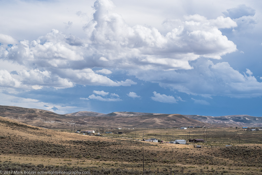 Clearing storm, Fossil Butte