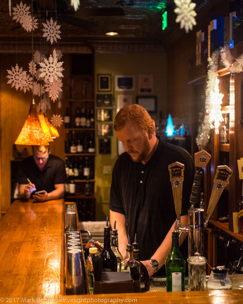 Bartender, Alley House Grille, Pagosa Springs