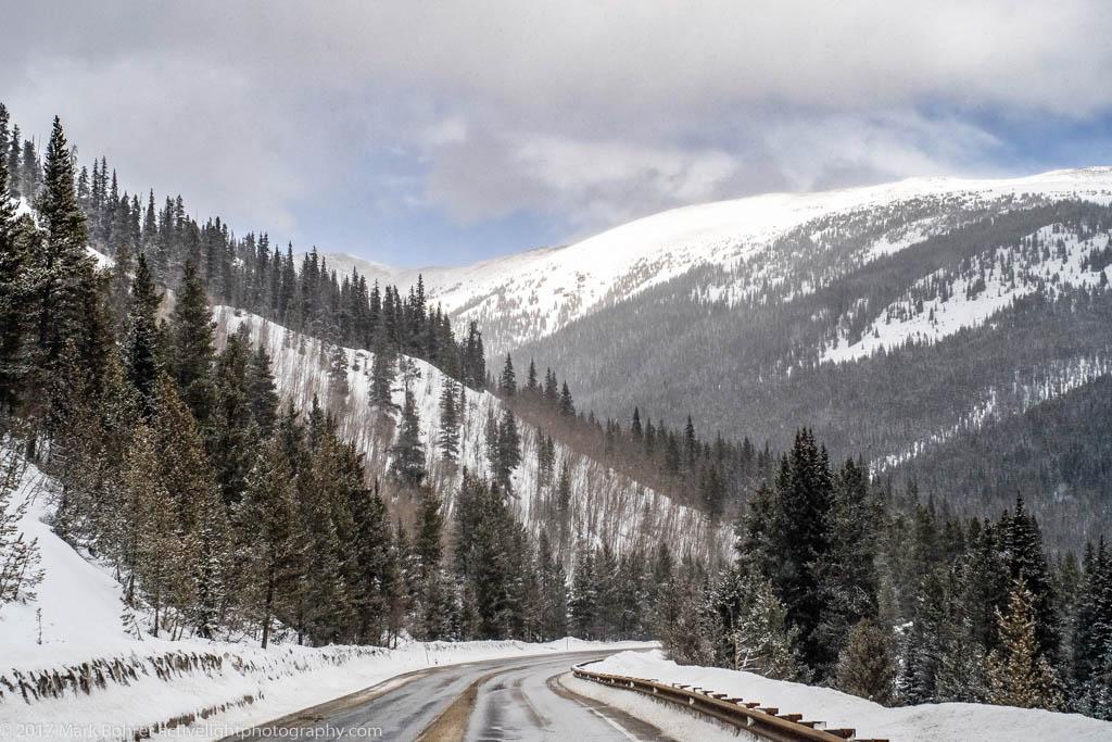 Highway view, US 285 in central Colorado