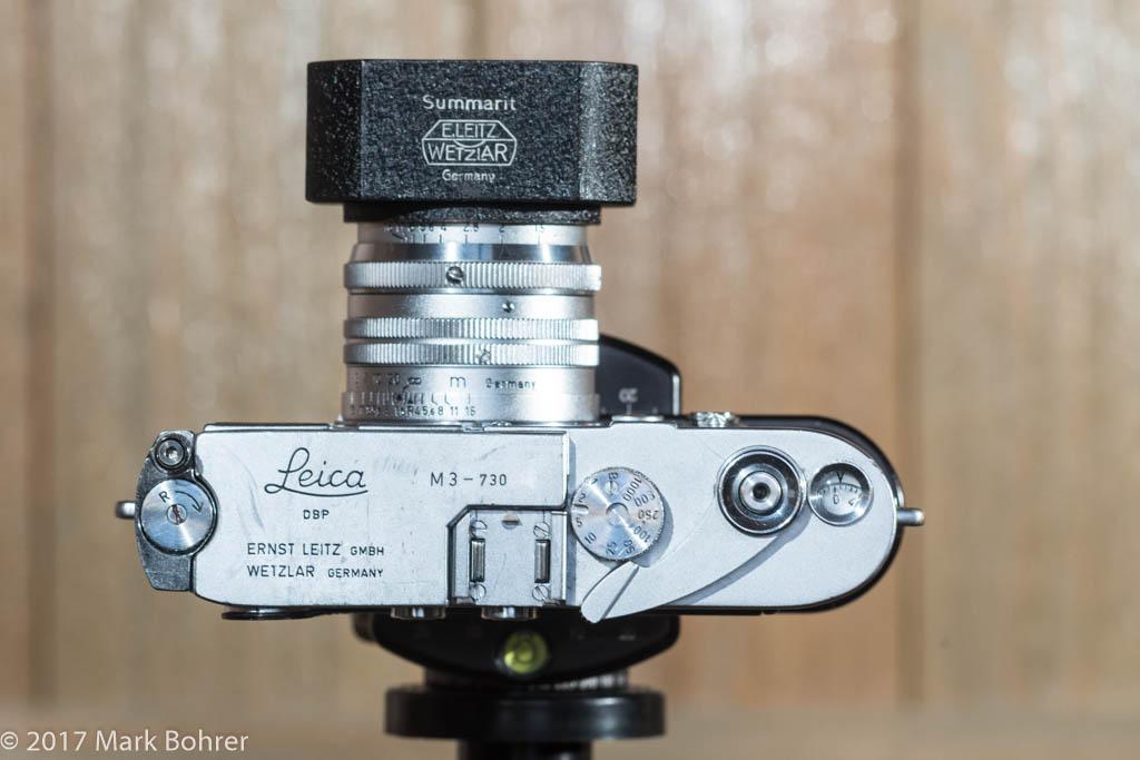 1954 Leica M3 with 50mm f/1.5 Summarit