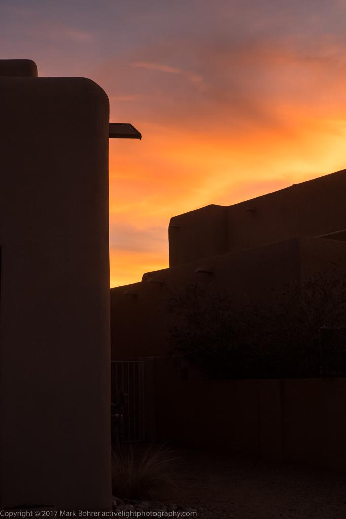 After-sunset light, Albuquerque, New Mexico