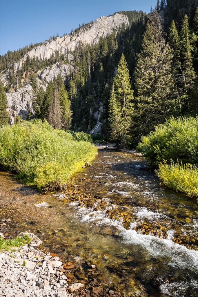 Salt River near Periodic Spring, Wyoming