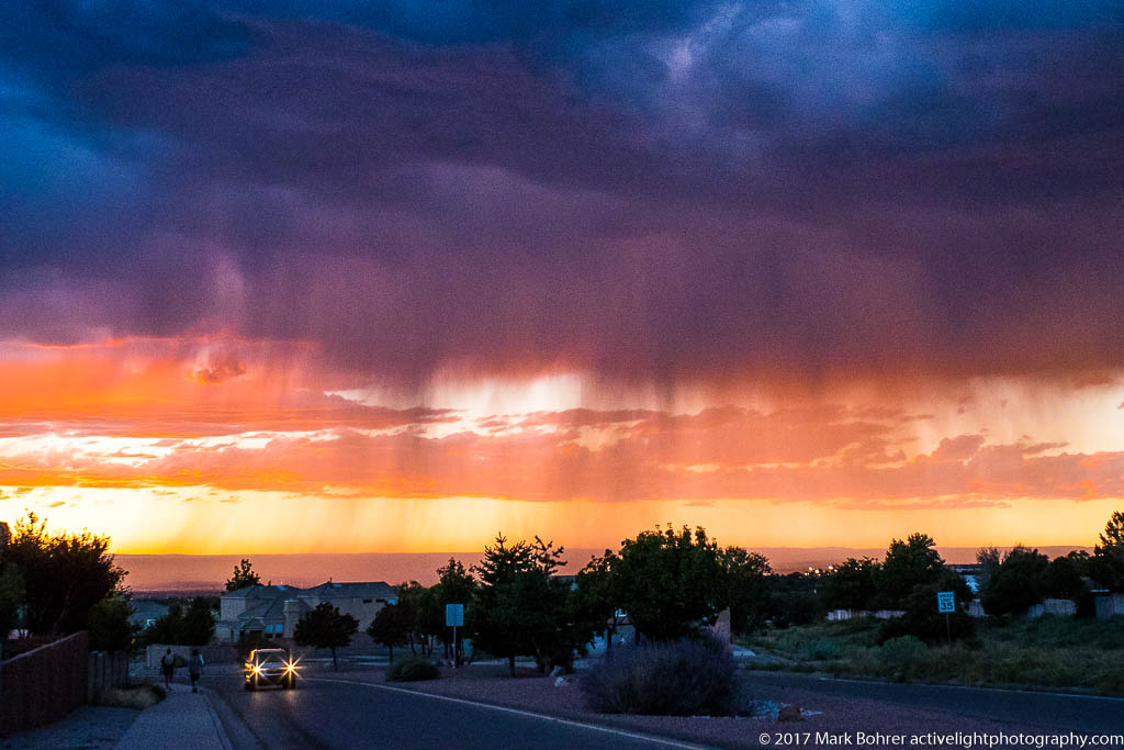 Approaching storm, Albuquerque