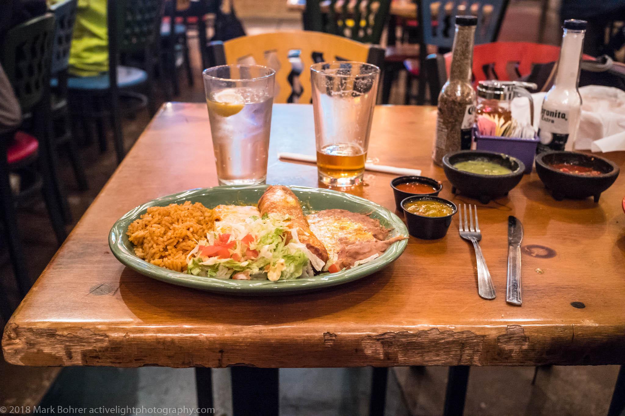 Plato Combinacion del Rancho, the Range Cafe