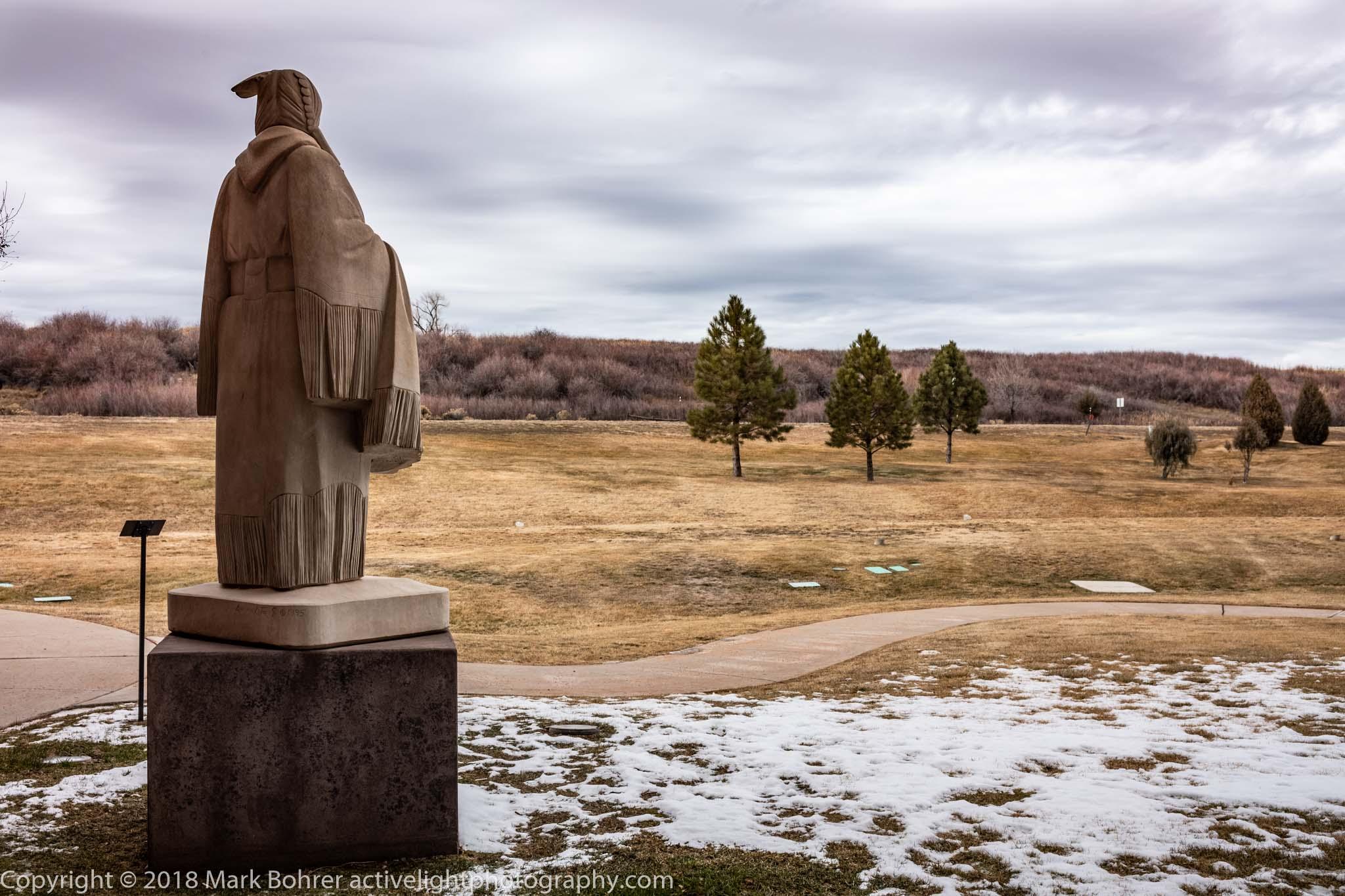 Sculpture, Sky Ute Casino, Ignacio, Colorado