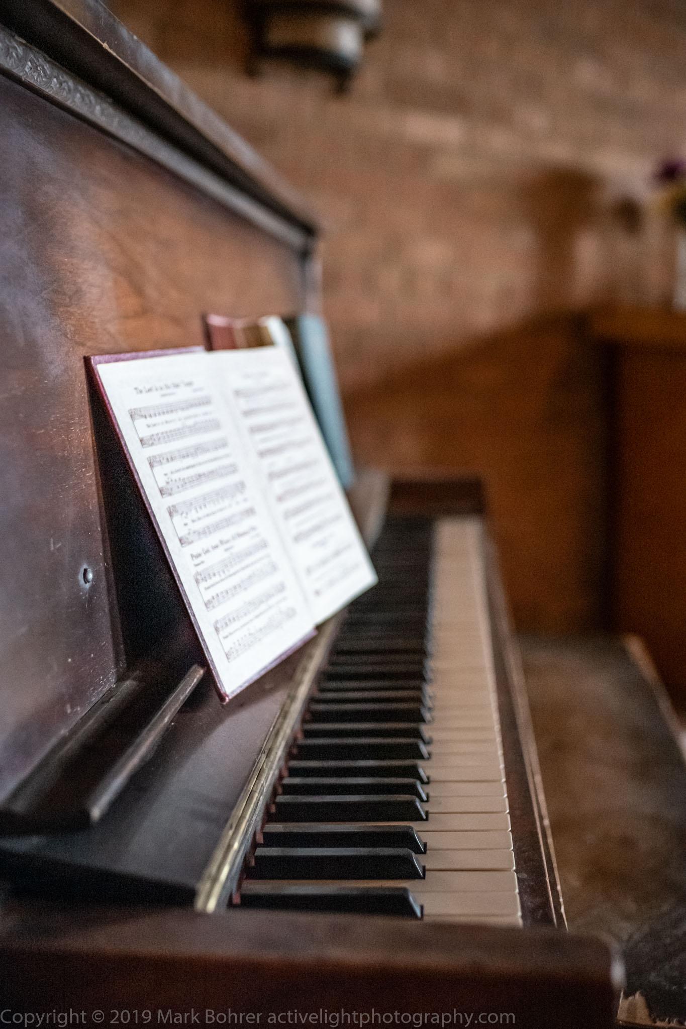 Piano, Fort Stanton chapel