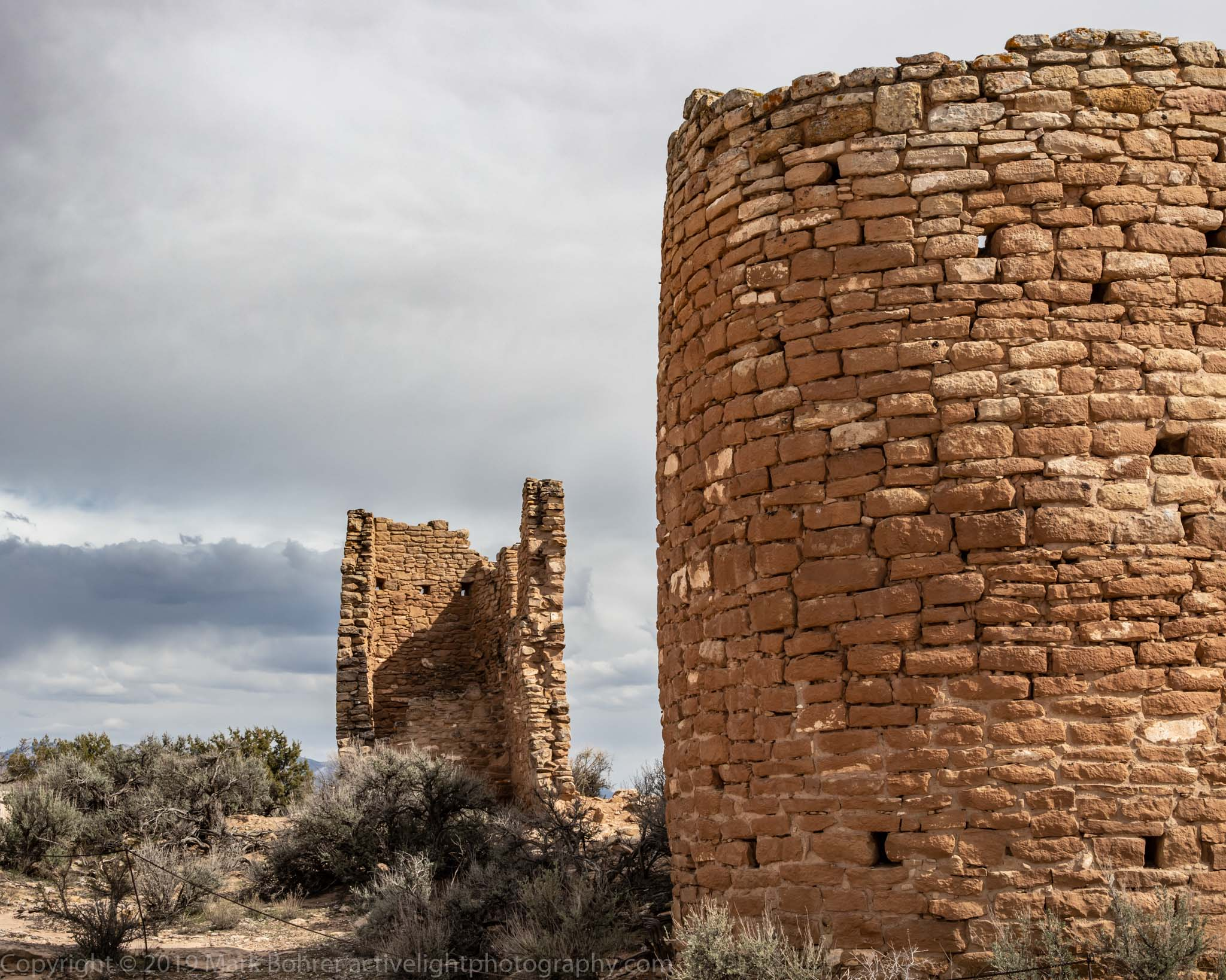 Hovenweep Castle - east side