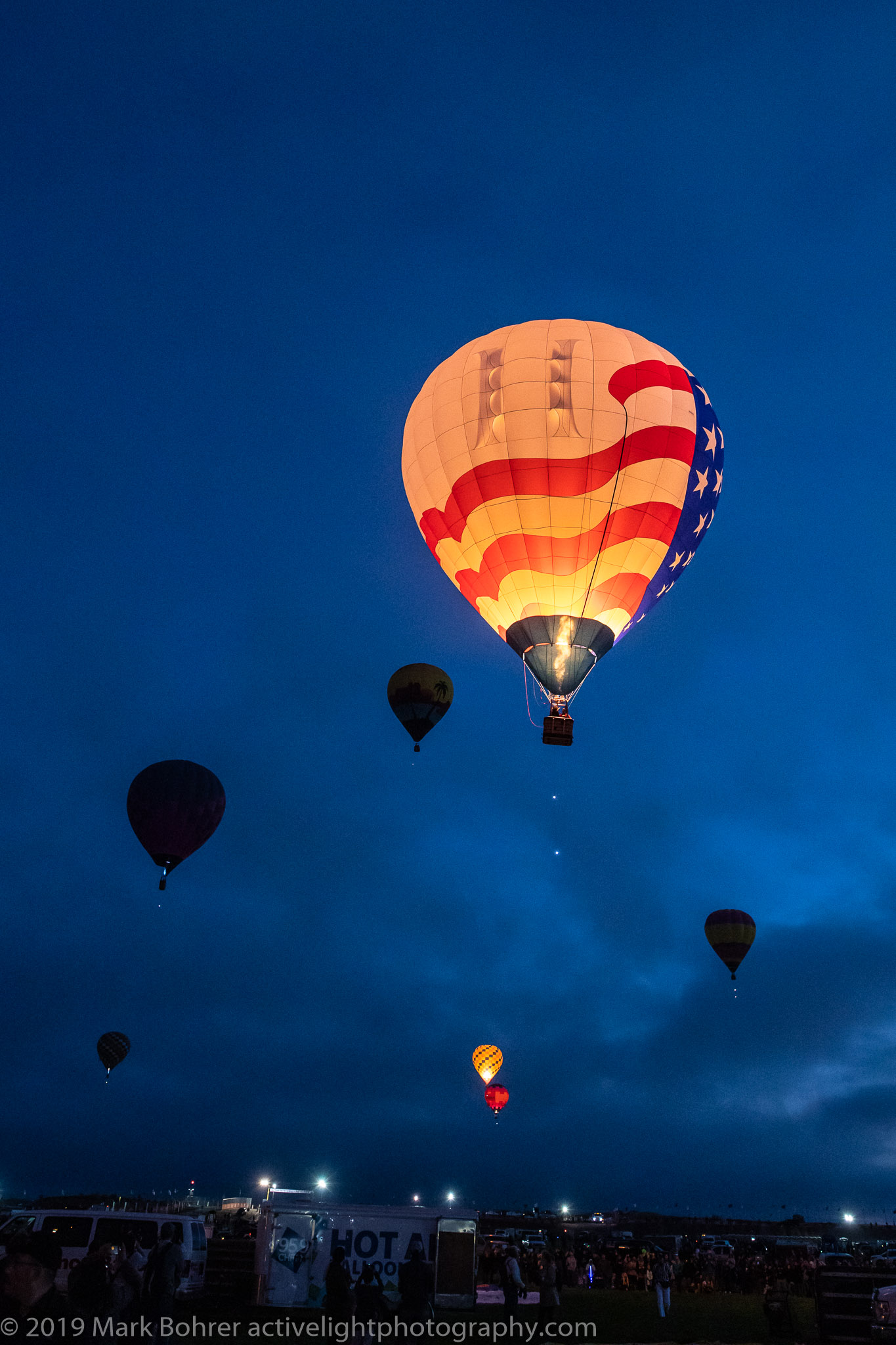 Flying high now - Albuquerque International Balloon Fiesta - Active Light Photography
