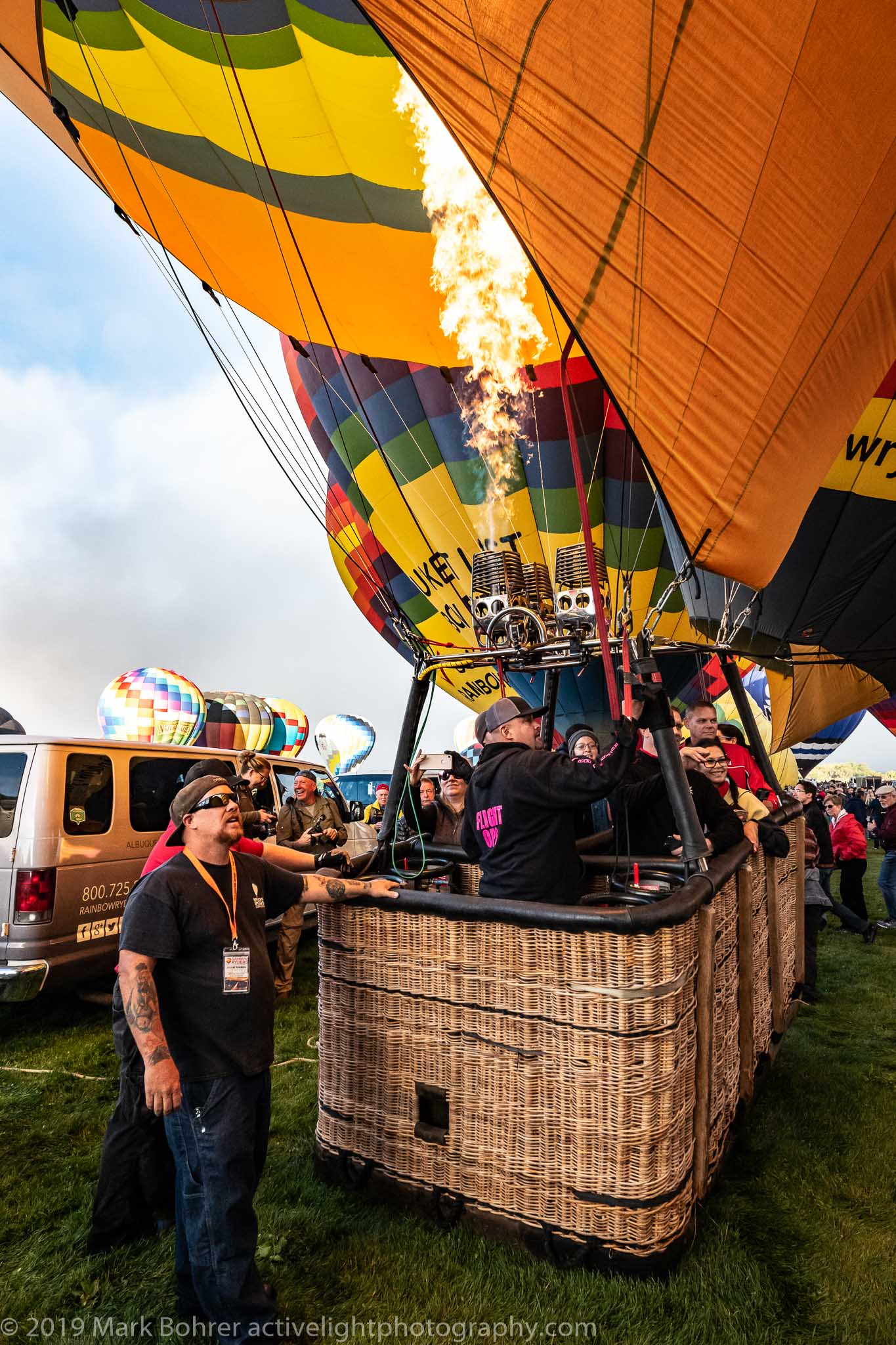Keep it Up - Albuquerque International Balloon Fiesta, Active Light Photography